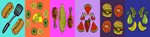 Pattern set image